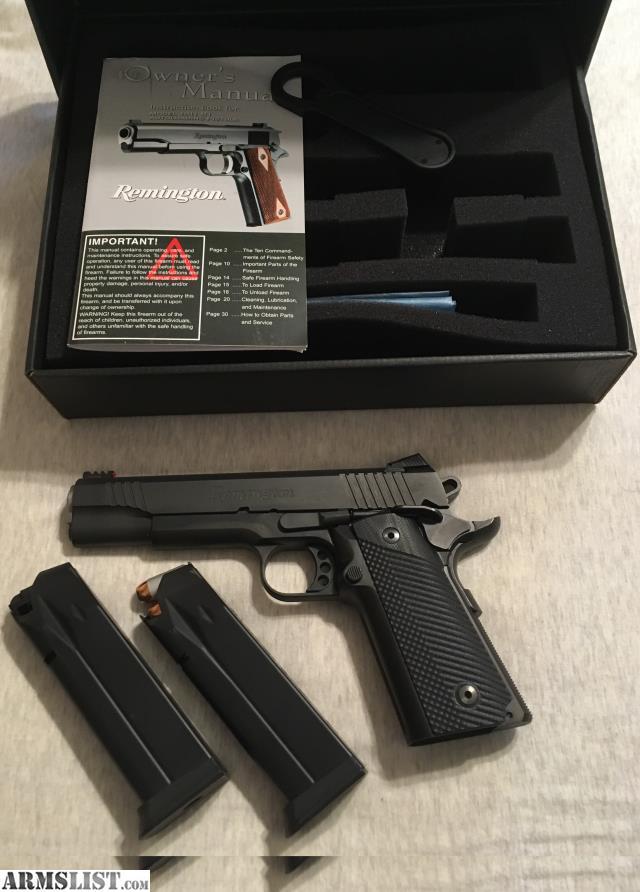 ARMSLIST - For Sale: Remington 1911 R1 Enhanced 45acp double stack