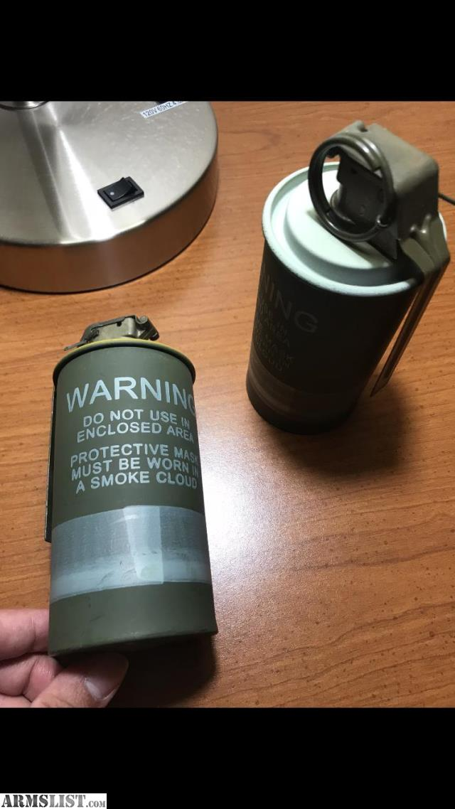ARMSLIST - For Sale: M18 Smoke Grenade Yellow