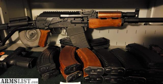 Armslist For Sale Trade Mint Russian Vepr 12 With Russian Rpk Wood