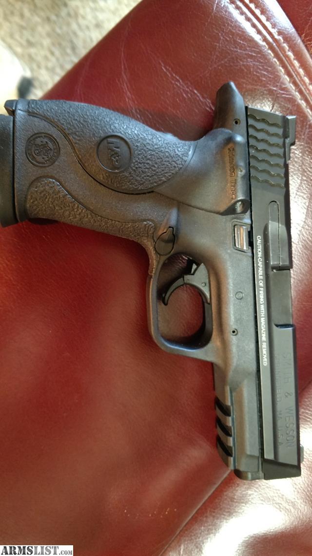 ARMSLIST - For Sale: Smith & Wesson S&W M&P 9 mm Crimson Laser Trace