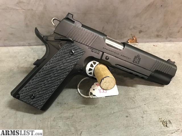 ARMSLIST - For Sale: Springfield RO Elite Operator 10mm