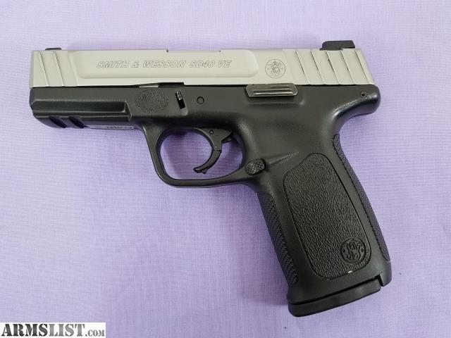 ARMSLIST - For Sale: Smith & Wesson SD40 VE Semi-Auto Pistol