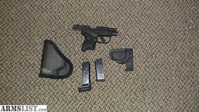 ARMSLIST - For Sale: Ruger LCP II with extended magazine