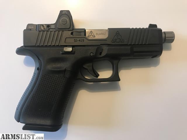ARMSLIST - For Sale: New Custom Glock 19 Gen5 Suarez