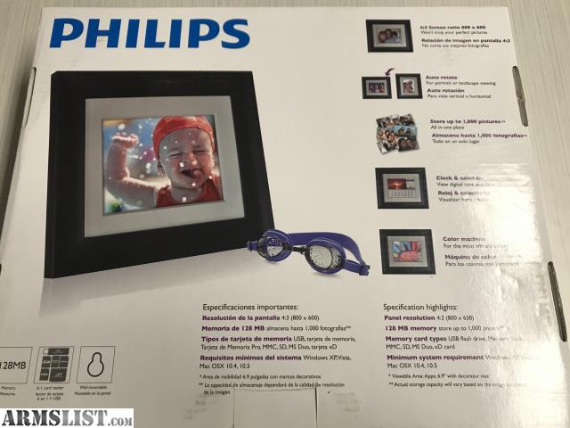 Armslist For Sale Brand New Philips 7 Digital Photo Frame
