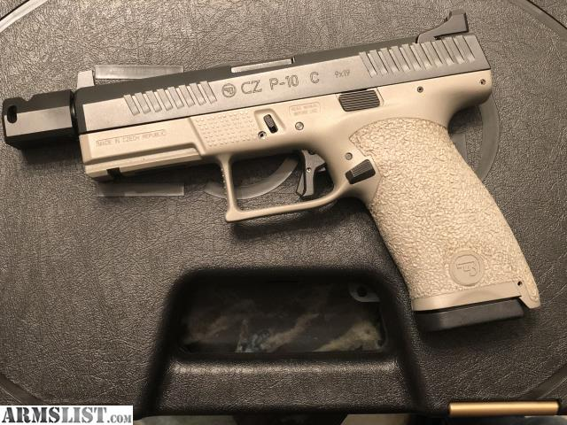 ARMSLIST - For Trade: Custom CZ P10C Tactical