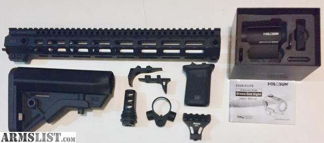 ARMSLIST - For Trade: *Midwest Industries G3M 15in M-LOK handguard