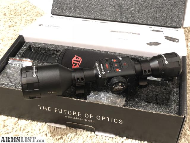 ARMSLIST - For Sale: THERMAL Scope ATN Thor 4 1-5x