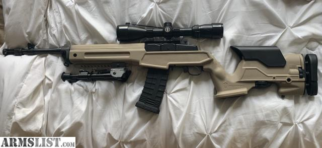 ARMSLIST - For Sale: Ruger Mini-14 tactical w/ precision stock