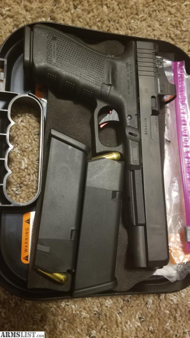 ARMSLIST - For Sale: Price Reduced! Super accurate Glock 40