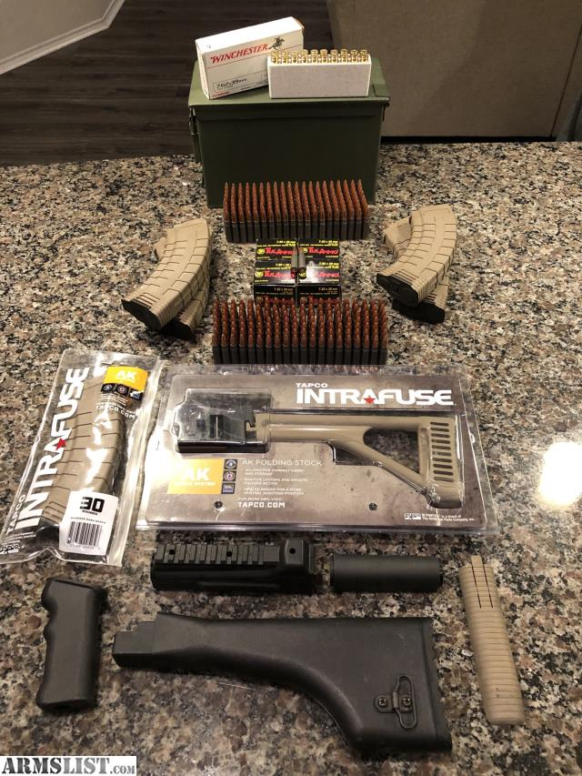ARMSLIST - For Sale: SOLD 382 rounds of 7 62x39mm of ammo