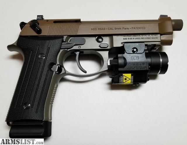 ARMSLIST - For Sale: Beretta M9A3 9mm Handgun