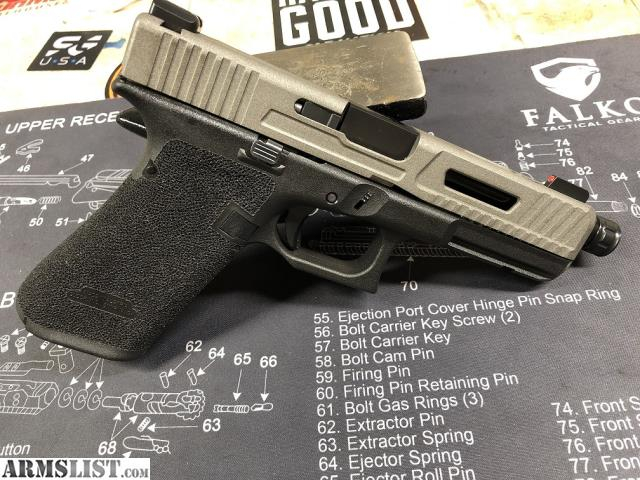 ARMSLIST - For Sale/Trade: Glock 17 Gen 5- Stipple and Slide Cuts