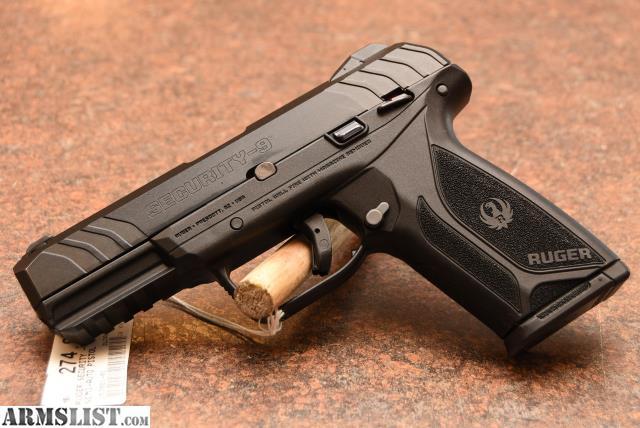 ARMSLIST - For Sale: Ruger Security-9 9mm Semi Auto Handgun!