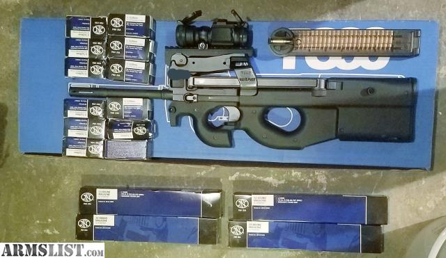 Ps90 For Sale >> Armslist For Sale Fn Ps 90 Ps90 5 7 1300obo