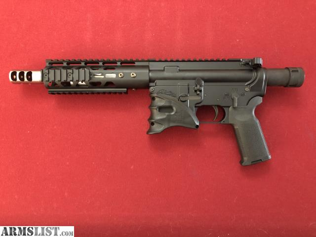 ARMSLIST - For Sale/Trade: Dead foot arms AR pistol