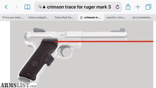 ARMSLIST - For Sale: Ruger Mark 2 or 3 Laser Grips