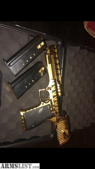 Armslist For Sale Desert Eagle Gold Tiger 50ae