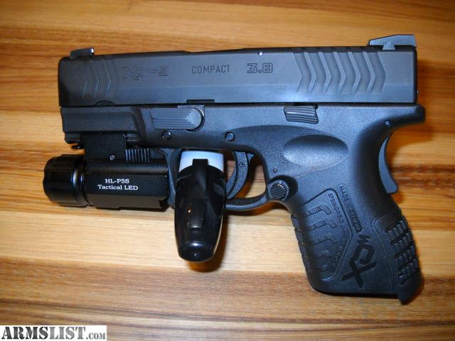 ARMSLIST - For Sale: Springfield XDm 3 8 compact