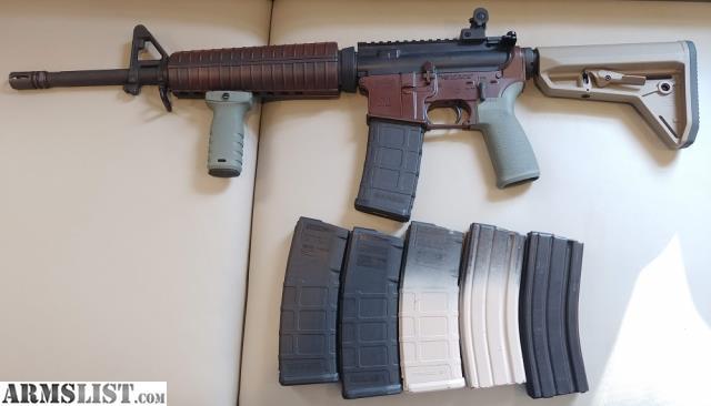 ARMSLIST - For Sale: PSA AR-15 w/ six magazines, Magpul/MFT