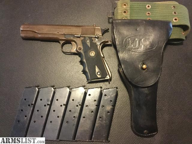ARMSLIST - For Sale: 1917 COLT MILITARY 1911