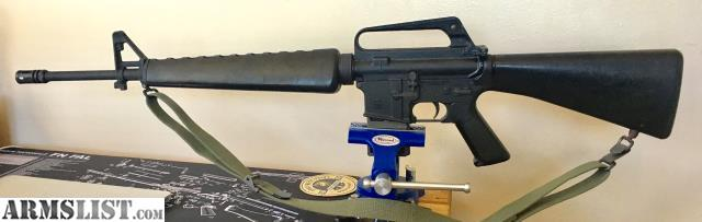 """ARMSLIST - For Sale: A2 Retro AR15 20"""" barrel 5 56 and fixed"""
