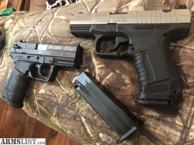 ARMSLIST - For Sale: Walter P99 and PK380