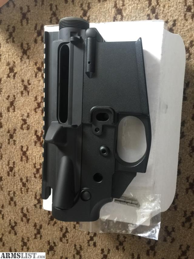 ARMSLIST - For Sale: AR 15 Upper and lower receiver set
