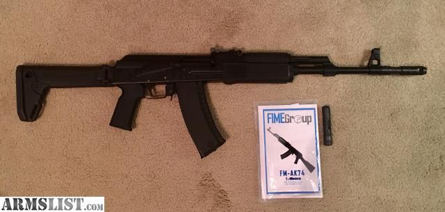 ARMSLIST - For Sale: FIME VEPR AK74
