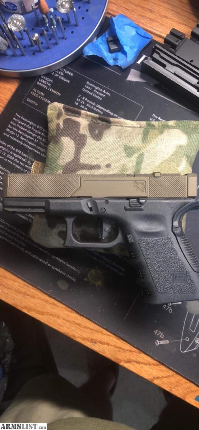 ARMSLIST - For Sale: Custom Glock 19