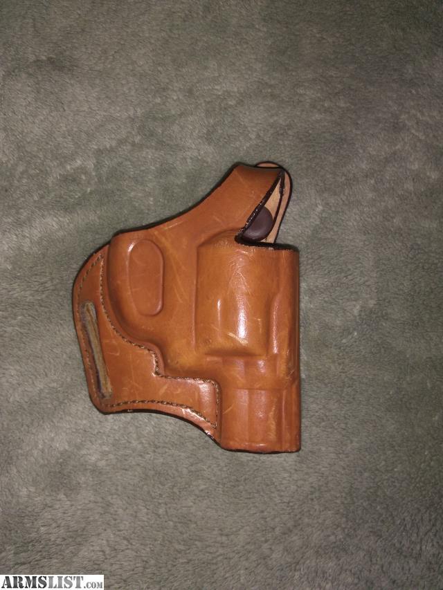 ARMSLIST - For Sale: Bianchi leather J-frame owb holster