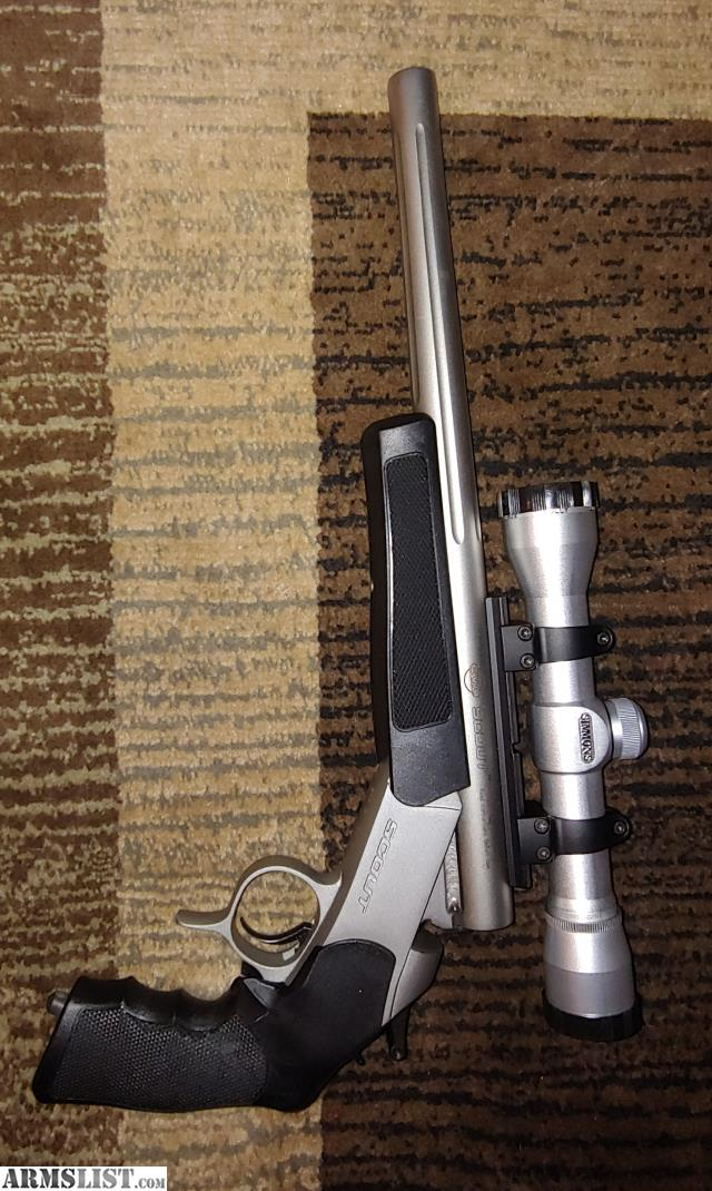 Cva Scout Pistol 357