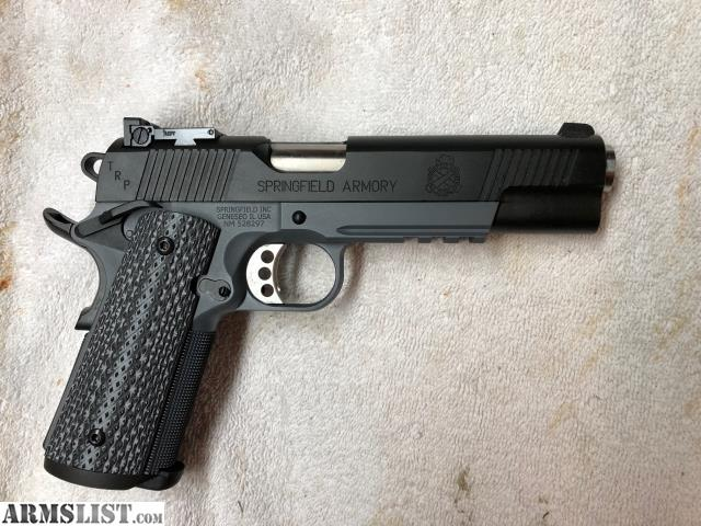 ARMSLIST - For Sale: Springfield 1911 TRP Operator