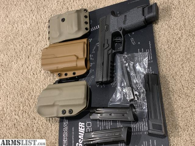 ARMSLIST - For Sale: Sig p320 full size w/ extras