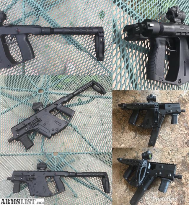 Armslist For Sale Kriss Vector 10mm Gen 2 Pistol With