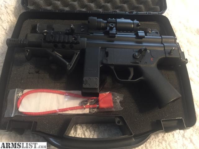 ARMSLIST - For Sale: NiteScout 9MM Semi Auto Pistol, MP5 Clone