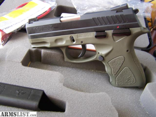ARMSLIST - For Sale: Taurus TH 9C 9mm olive green mib