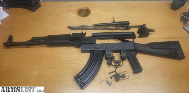 ARMSLIST - For Sale: AK47 AKM Romanian Cugir SAR1 parts kit