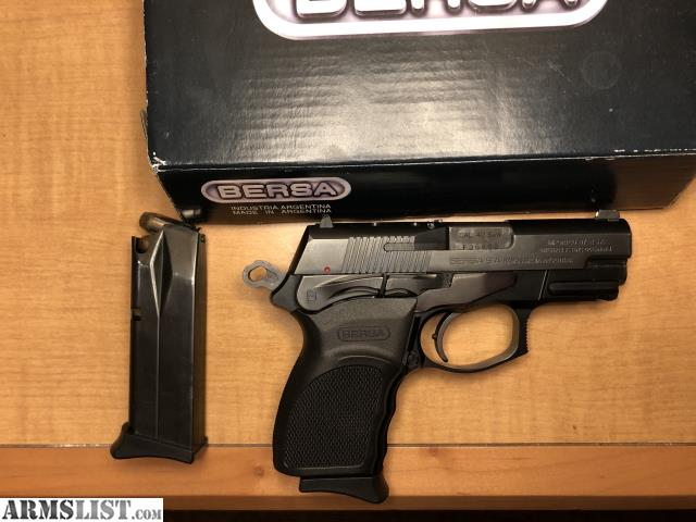 ARMSLIST - For Sale: Bersa  40s&w Thunder 40 Ultra Compact Pro