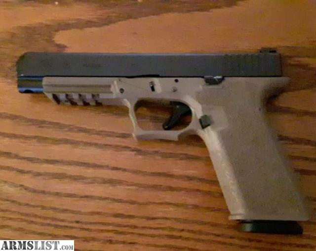 ARMSLIST - For Trade: Glock 35 with custom P80 frame