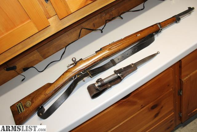 ARMSLIST - For Sale: Swedish Mauser 96/38 Oberndorf 1899