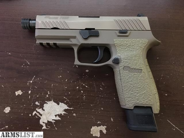 ARMSLIST - For Sale/Trade: Sig Sauer FDE P320 TACOPS with