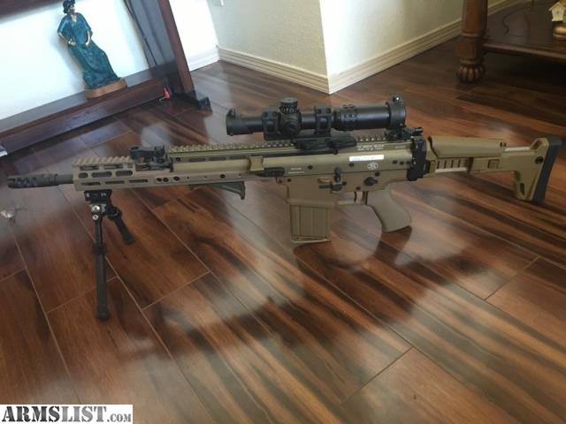 ARMSLIST - For Sale: FN SCAR 17S FDE