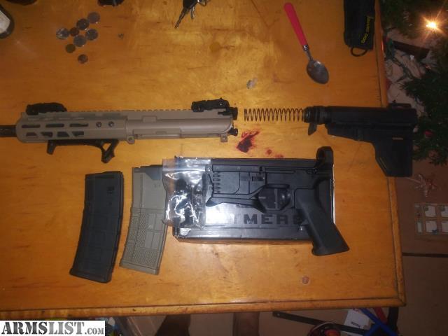 ARMSLIST - For Sale/Trade: Ar 15 FDE Pistol Kit with RL556v3