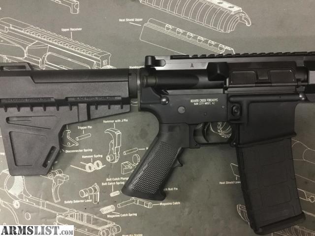 ARMSLIST - For Sale: AR15 Pistol Anderson/BCF Lower & PSA