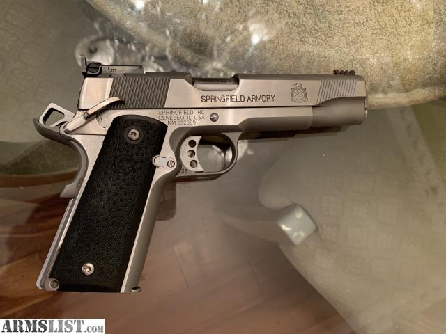 ARMSLIST - For Sale: Springfield 1911-A1 Loaded Stainless 9mm