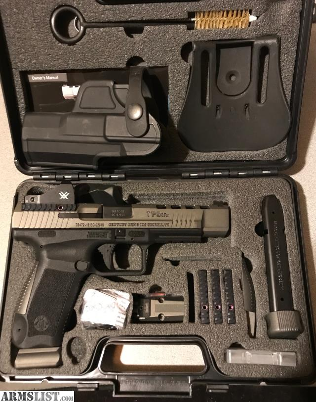 ARMSLIST - For Sale: Canik TP9SFX