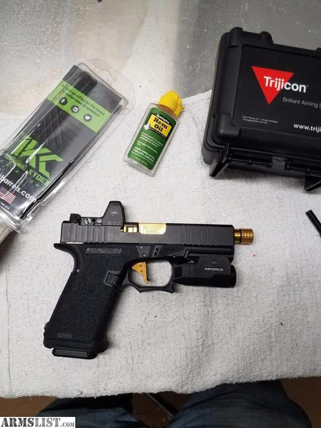 ARMSLIST - For Sale/Trade: P80 glock 19 rmr trijicon