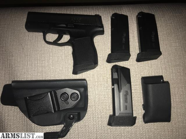 ARMSLIST - For Sale: LNIB Sig P365 with 4 mags, Vedder Light