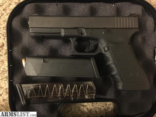 ARMSLIST - For Sale/Trade: Glock 17 w/ Trijicon HD Vickers